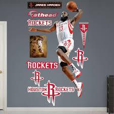 rockets harden wall decals