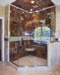 Wood Shower Door by Neo Angle Shower Door King Shower Door Installations