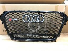 audi rs4 grill audi a4 s4 b8 5 grille rs4 grill quattro wording car accessories