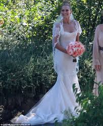 Wedding Dress Full Movie Download Inside Model Molly Sims U0027 Magical Napa Valley Wedding To Movie