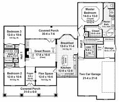 One Story Open Floor Plans by Simple One Story House Plans Bedroom Bath Small Under Sq Ft Ranch