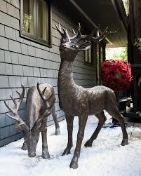 standing indoor outdoor deer balsam hill