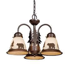 Ceiling Light Kit 3 Light Kit Burnished Bronze Cabin Lighting