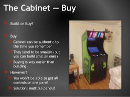 Make Your Own Arcade Cabinet by Build Your Own Arcade Cabinet Picture Make Your Own Nanocade