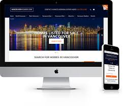 vancouver houses real estate website jaden nyberg designs