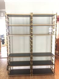 value of gold gilt etagere bookcases thriftyfun
