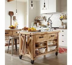 inexpensive kitchen island ideas pottery barn style kitchen