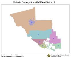Map Of Volusia County Volusia County Sheriff Zone Map Image Gallery Hcpr