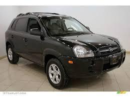 jeep tucson 2006 obsidian black hyundai tucson gl 25501193 gtcarlot com