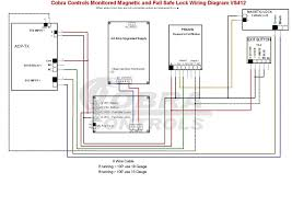 access control system schematic diagram wiring diagram and
