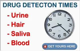 drug detection time table drug detection times button how to pass a drug test