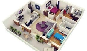modern house plan dazzling ideas 6 modern house plans in 3d plan home array