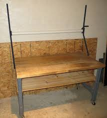 bally block 144x36 vintage industrial butcher block work bench butcher block work shipping table on casters
