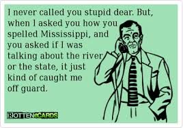 Blonde Moment Meme - i never called you stupid dear but when i asked you how you