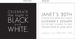 black and white invitations black and white party invitation black and white party invitations