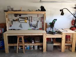 Build Wood Workbench Plans by Workbench Build Woodworking Garage Ideas And Woods