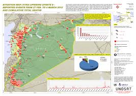 Maps Syria by Situation Map Syria Uprising Update 8 Reported Events From 27