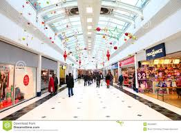Commercial Christmas Decorations For Shops by Stores In Plaza Shopping Mall Commercial Building Shopping