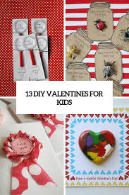kids valentines day cards 13 creative diy s day cards for kids shelterness
