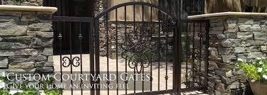 sunset gates wrought iron gates fencing arizona