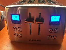 Toasters Walmart Cuisinart Countdown Classic 4 Slice Toaster Walmart Com