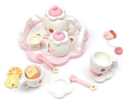 jeux de cuisine service jeu d imitation cuisine service à thé en bois set de thé magique