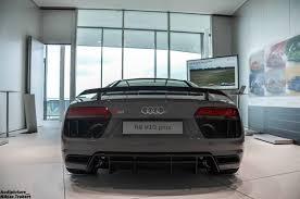 Audi R8 Grey - two tone nardo grey audi r8 v10 plus looking sleek