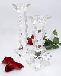 candelieri in cristallo bomboniera candeliere in cristallo morena design grande o piccolo