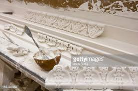 plaster ornamentation stock photo getty images