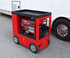 box cart rsr generator pit box pitbox rolling portable racing toolbox cart