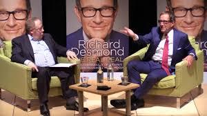 media mogul richard desmond kickstarts 1billion regeneration of
