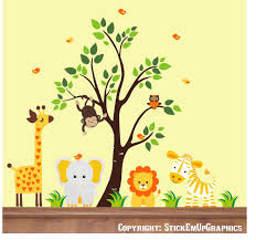 28 nursery wall stickers jungle jungle wall stickers blue nursery wall stickers jungle orange colored animal decals nursery wall decals