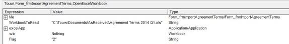 vba to open excel spreadsheet from access does not work do you