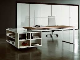 Buy Modern Desk by Fabulous Modern Office Desk With Curved Table Lamp Blended With