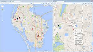 Largo Florida Map by Pulse Live Pulse