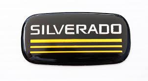 amazon com chevrolet chevy silverado emblem badge pillar brand