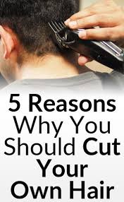 cut your own hair with clippers women 5 reasons why you should cut your own hair