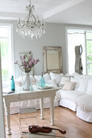 Shabby Chic White Chandelier 66 Shabby Chic Living Room Ideas U2013 Old And New In The Living Room