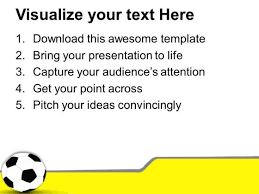 black and white football game theme powerpoint templates ppt