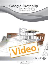 google sketchup pro series sketchup cad online video peachpit