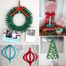 Christmas Ornaments Diy Easy diy xmas decorations ideas designcorner