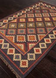 brilliant southwestern style rugs roselawnlutheran within