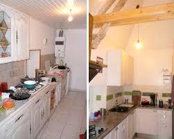 pratique cuisine avant après une cuisine devenue plus pratique et lumineuse