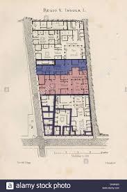 map of the house of lucius caecilius iucundus regio v insula i