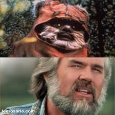 Kenny Rogers Meme - kenny rogers star wars ewok know your meme