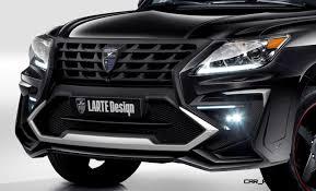 lexus lx570 sport larte design creates killer u0027alligator u0027 upgrade package for lexus