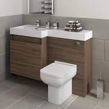 Bathroom Furniture Walnut by Toilet And Sink Vanity Unit Walnut Bathroom Furniture Back To Wall