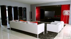 home dek decor breathtaking red black and white living room gallery best