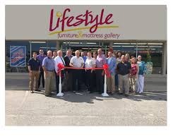 Chamber Ribbon Cutting  Lifestyle Furniture And Mattress Gallery - Furniture and mattress gallery