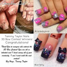 tammy taylor winners new nail design new contest